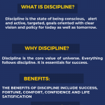 Essay on Discipline For High School & College Students