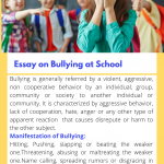 Essay on Bullying | Types, Causes, Impacts & Solution
