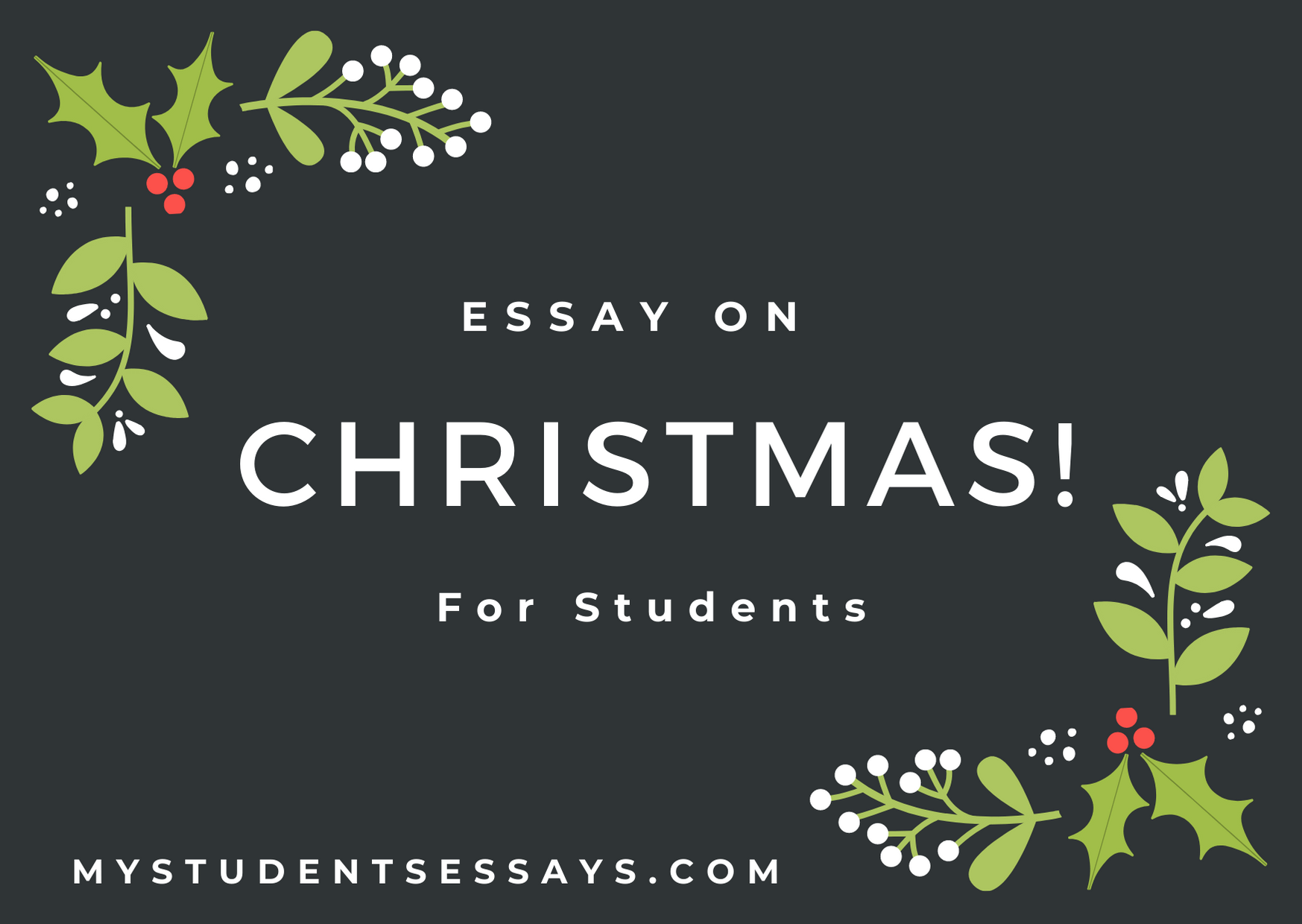 Essay on Christmas for Students