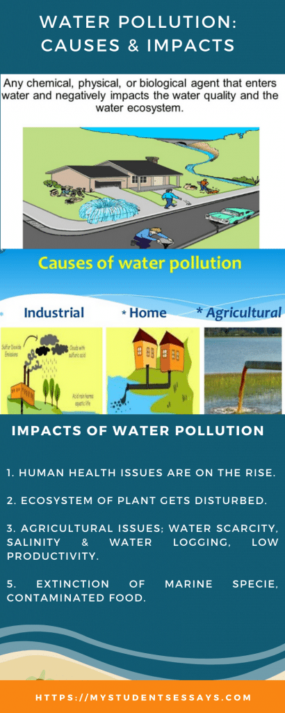 Water Pollution its Causes & Impacts Essays & Speeches with Quotes for Students
