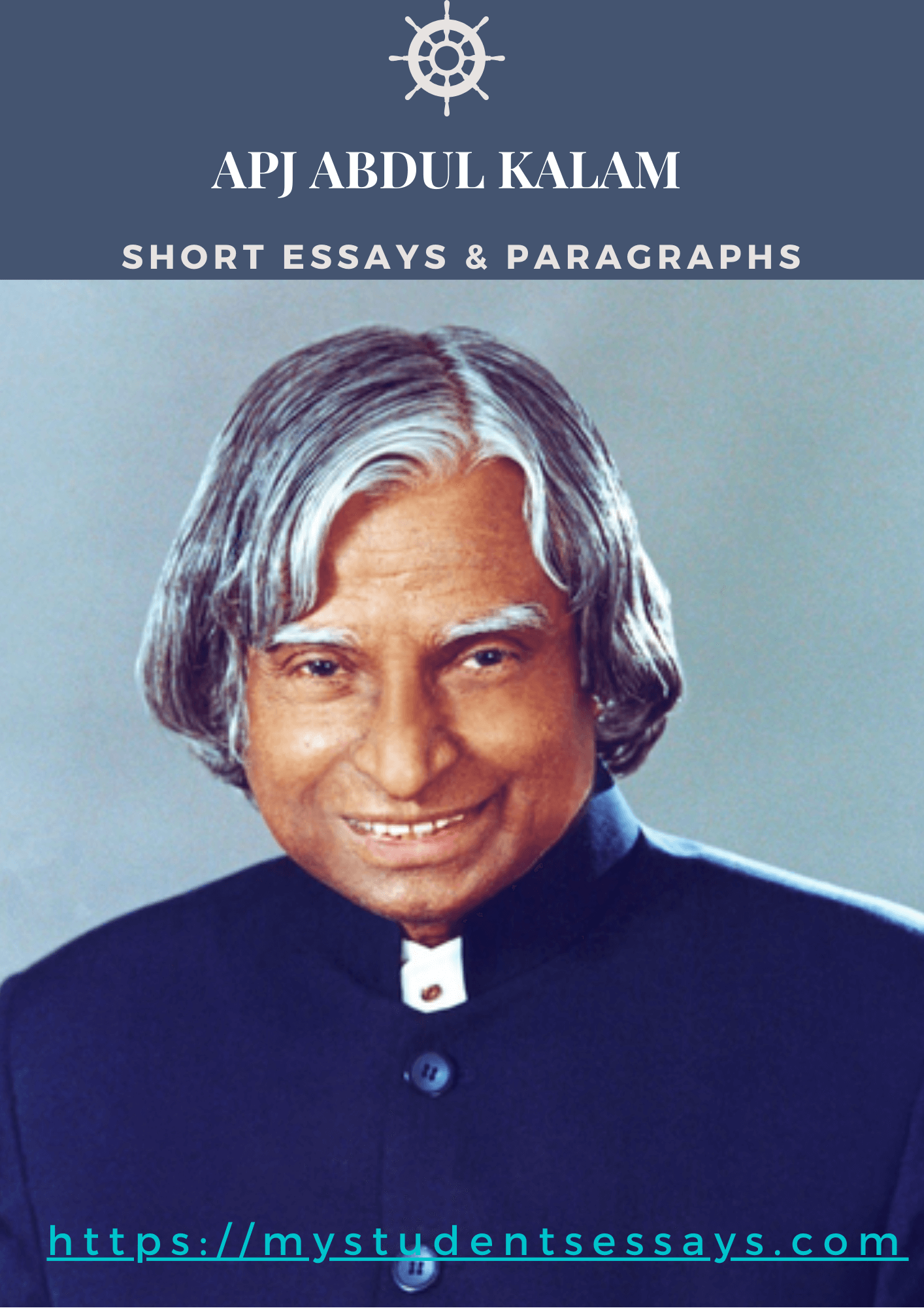 APJ Abdul Kalam Essay, short essay, Paragraph, short note, quote for students