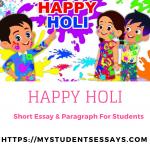 Essay on Holi | My Favourite Festival Holi Essay for Students