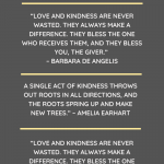 Best Selected Speeches on Love & Kindness For Students