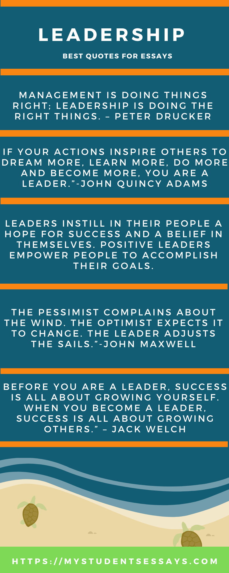 Essay on Leadership for Students with quotes & Examples