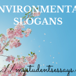 Environmental Slogans | Unique, Catchy, Posters, Images [Updated 2020]