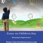 Speech on Children Day  2021 | Message, Value & Importance in Life