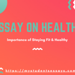 Essay on Health & Importance for Students