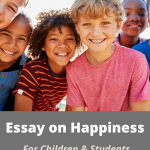 Essay on Happiness & its benefits in Life For Students