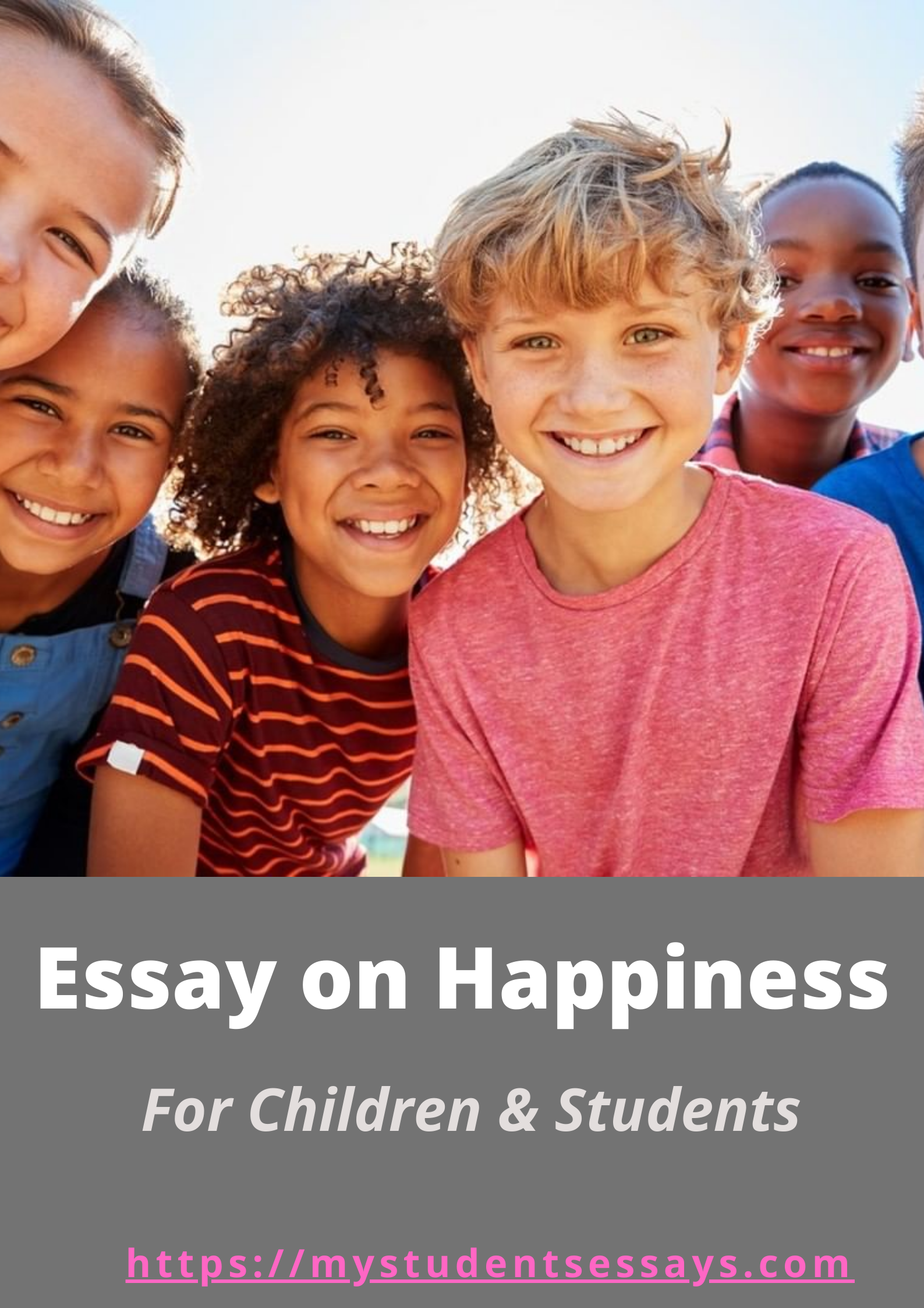Essay on Happiness & its benefits in life for children & Students