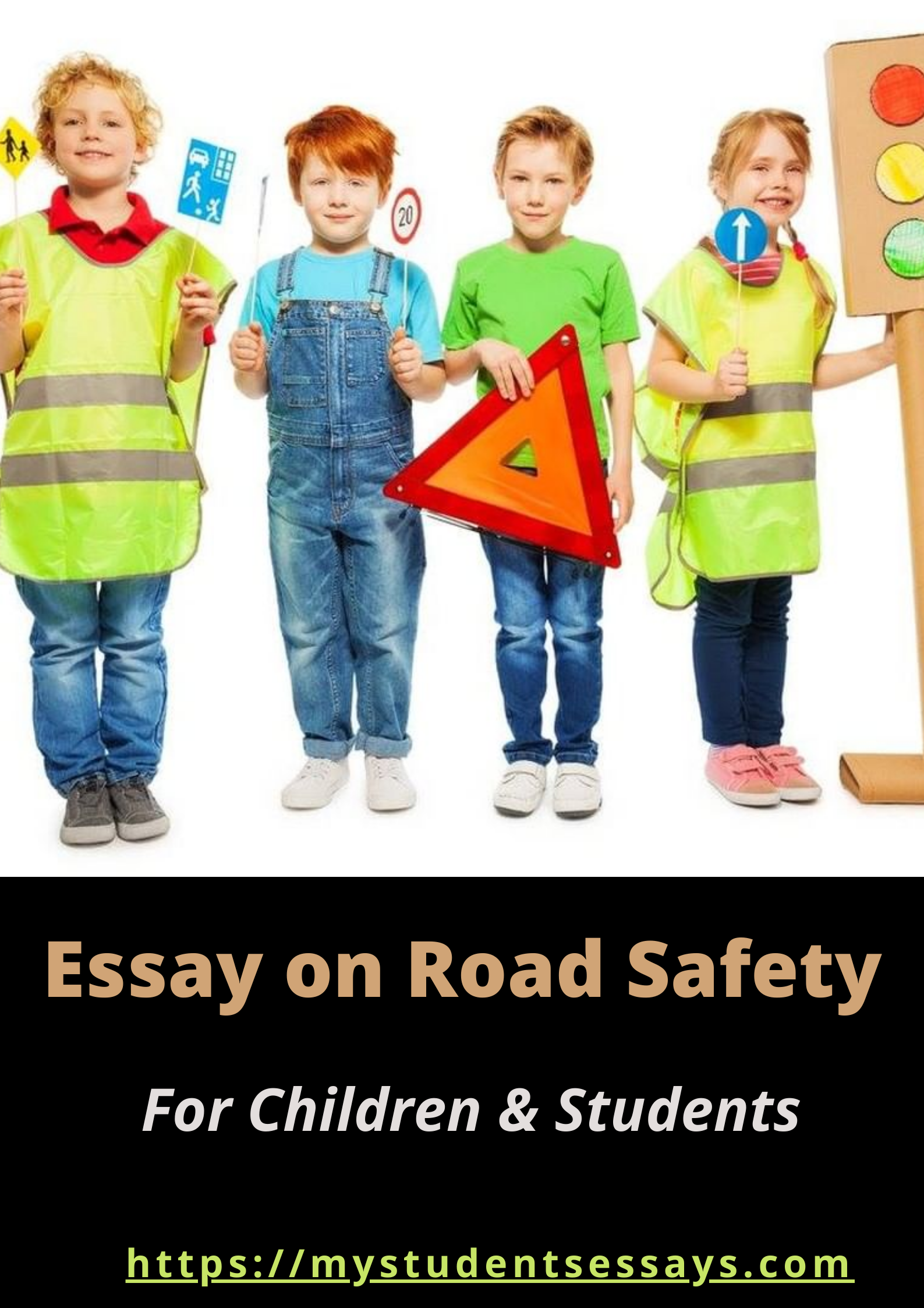 Essay on Road Safety For Children & Students
