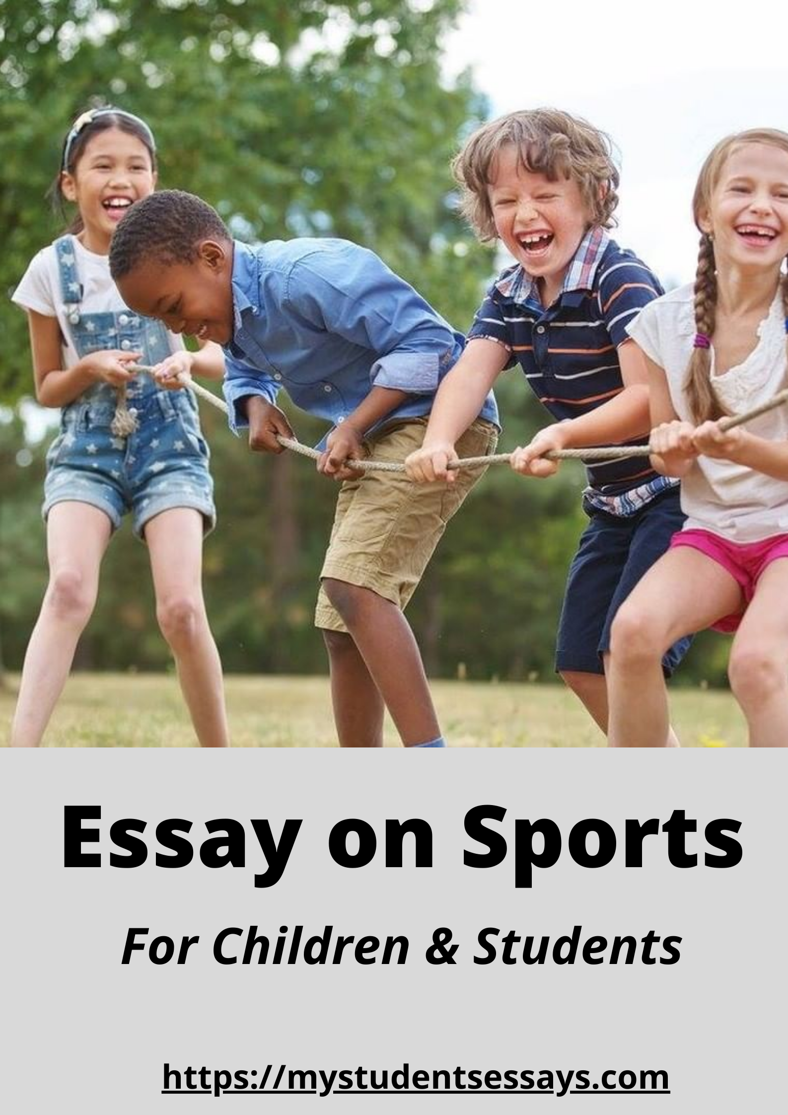 Essay on Sports for Children & Students