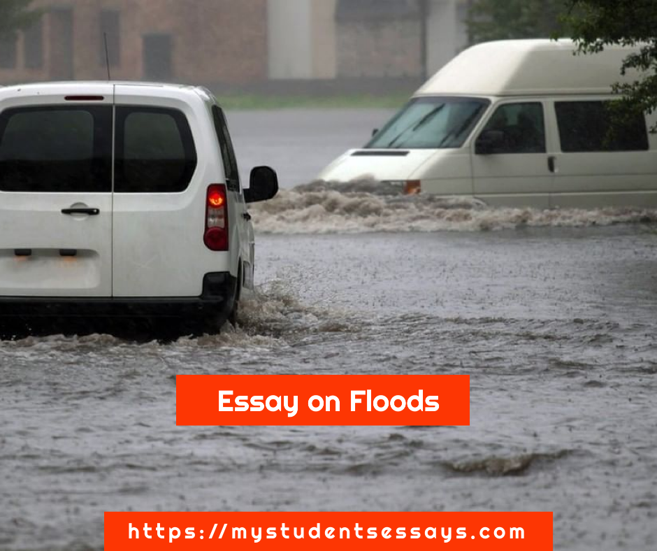 Essay on Floods for children & Students
