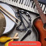 Essay on Music For Children & Students