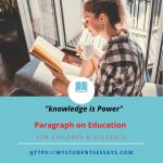 Paragraphs On Education | Short & Long Paragraphs For Students