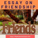 Essay On Friendship | Short & Long Essay For Students