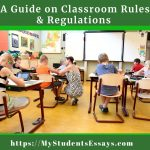 Classroom Rules | A Guide For KG, Elementary & High School Students