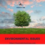 Essay on Environmental Issues For Children & Students