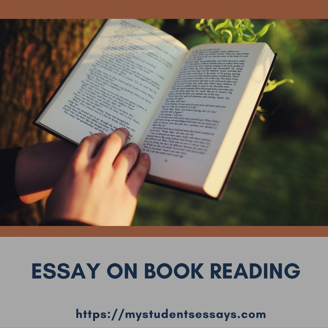 Essay on Book Reading for students