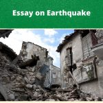 Essay on Earthquake | Short & Long Essays For Students