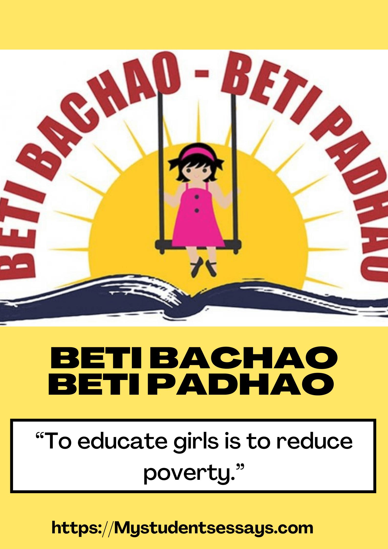 Beti bachao beti padhao essay for students