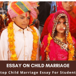 Essay on Child Marriage | Stop Child Marriage Essay For Students