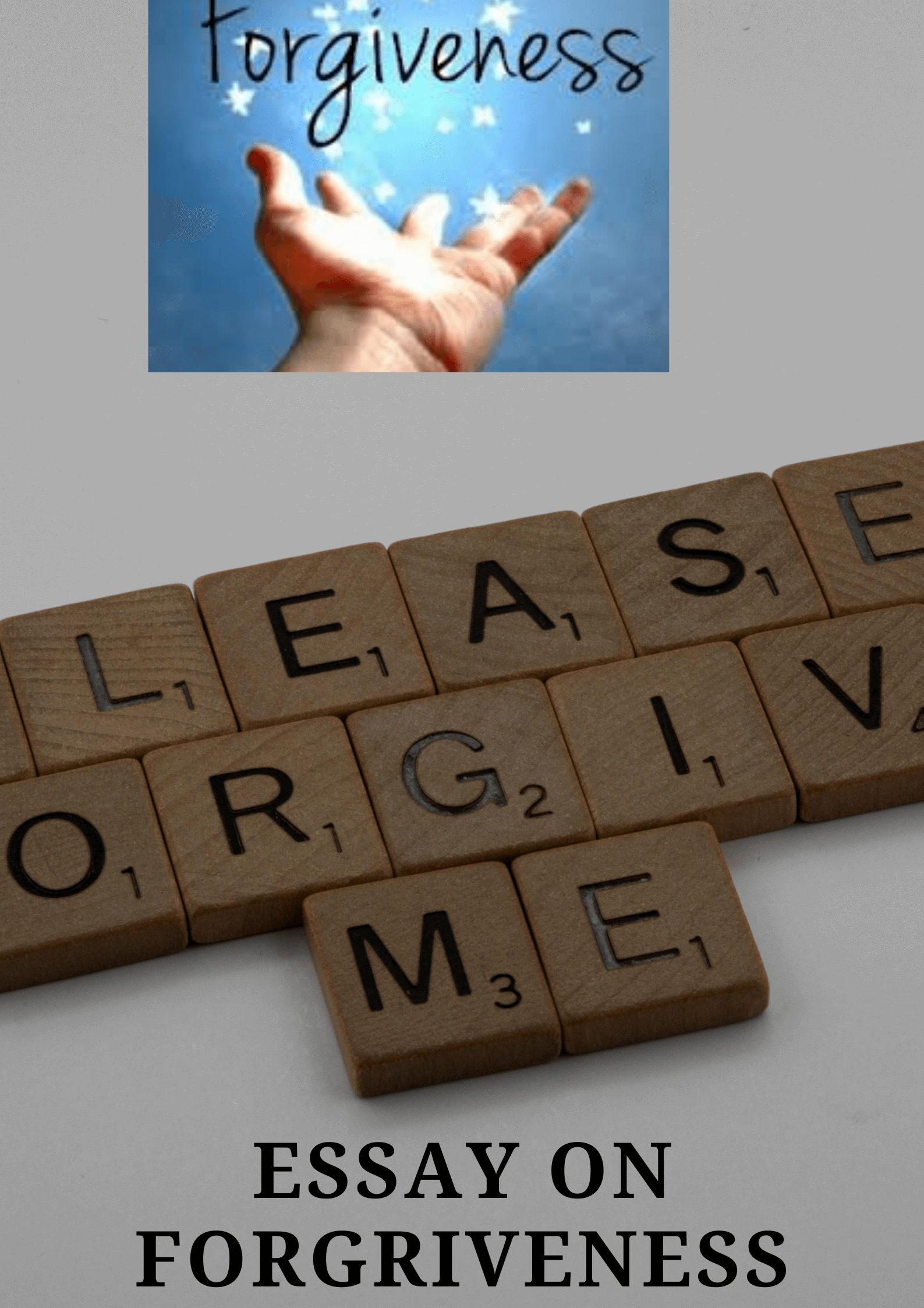 Essay on Forgiveness For Students