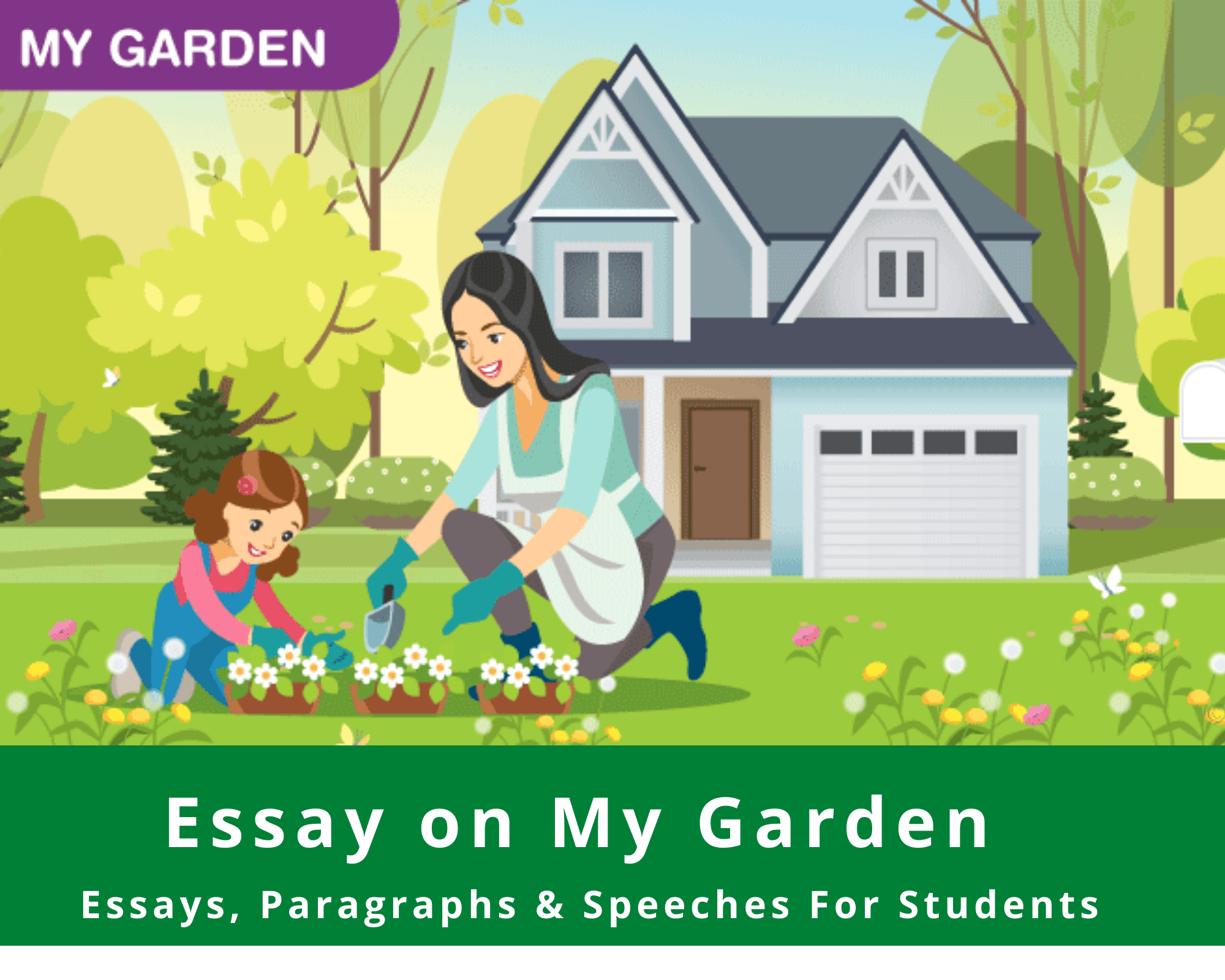 Essay on Garden For Students