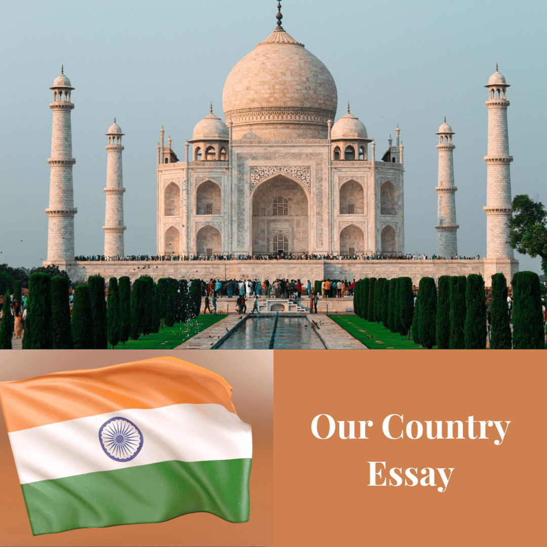 Our country, my country Essay for students