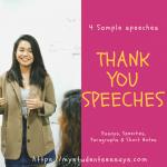 Thank You Speeches For Farewell [ 4 Best Written Samples Speeches ]